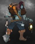 League of Legends - Yorick redesign idea