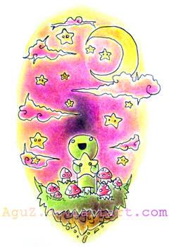 :original: Stars and Mushrooms