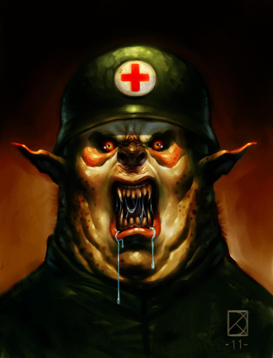 The medic by DanielKarlsson