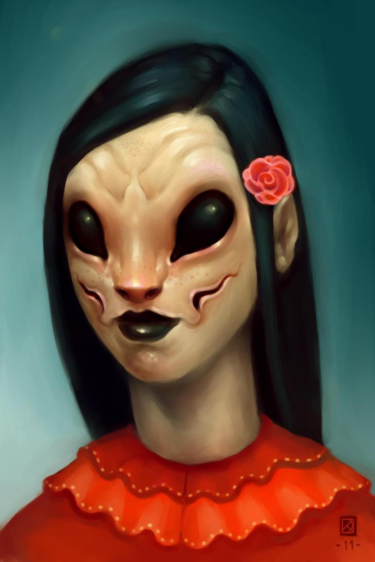 Mutant Senorita by DanielKarlsson
