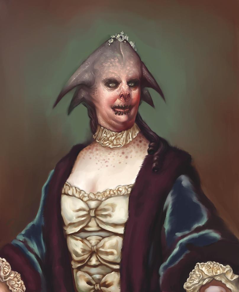 Madame Le Freak by DanielKarlsson