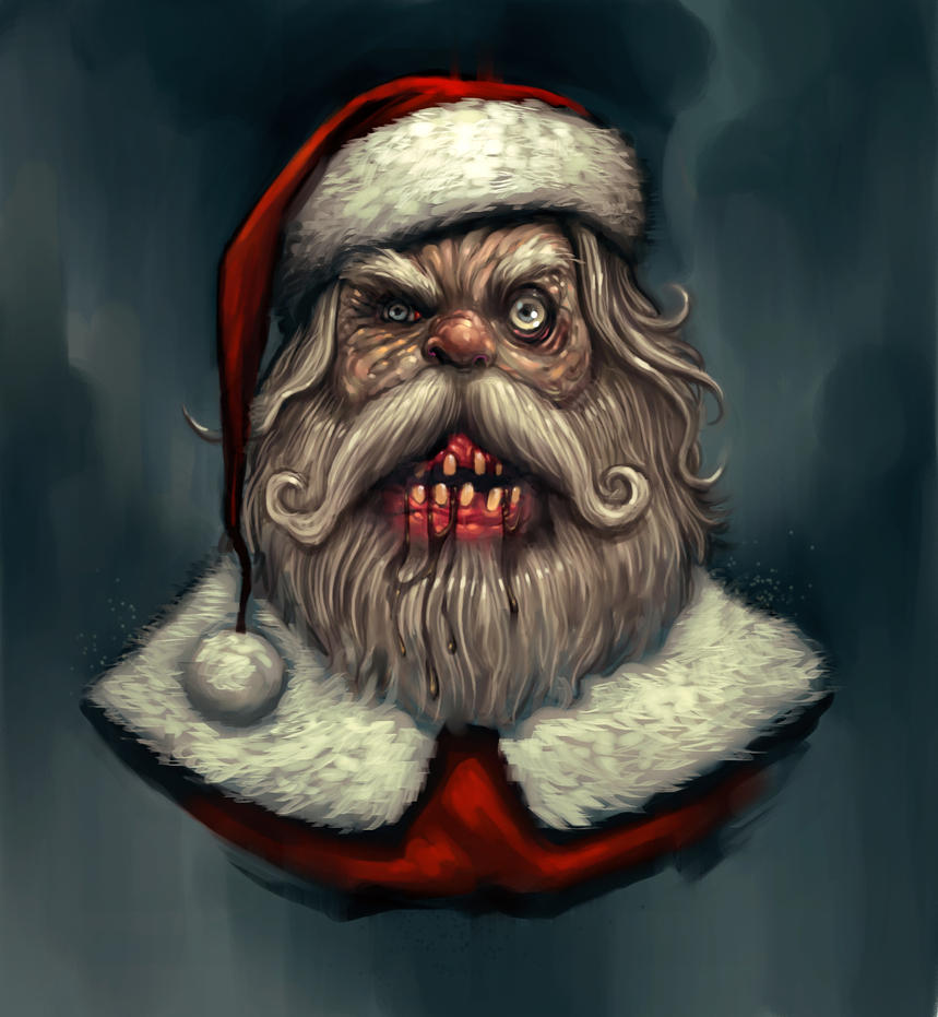 Rabid Santa by DanielKarlsson