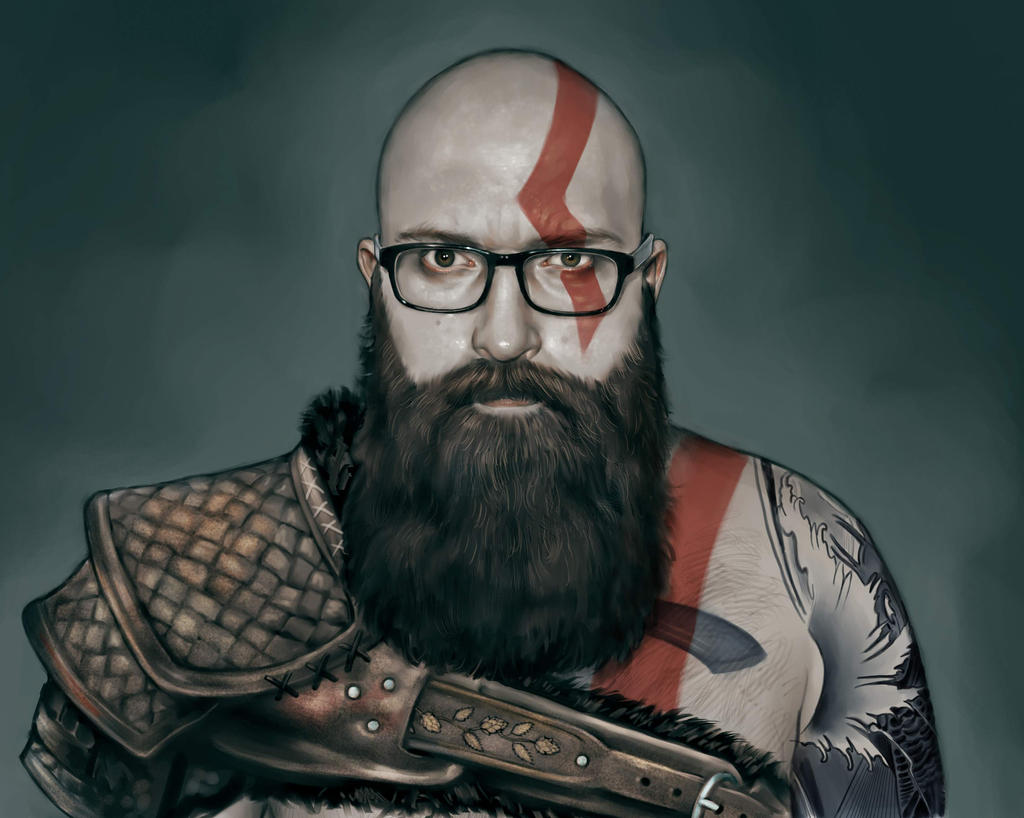 Kratos D by DanielKarlsson