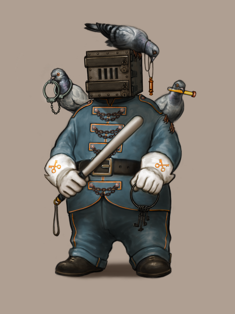 The Prison Guard by DanielKarlsson