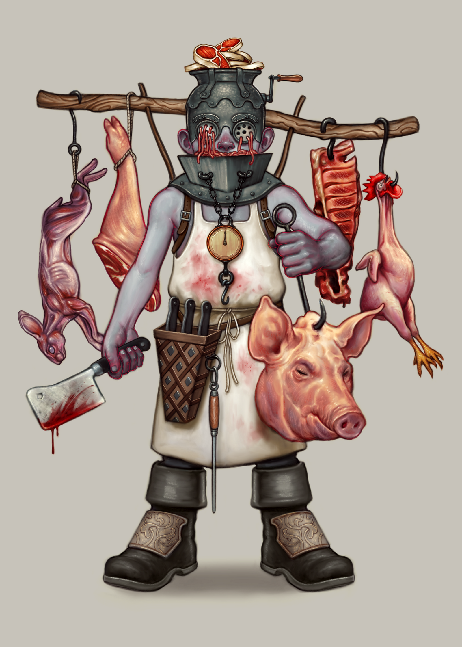 The Butcher by DanielKarlsson