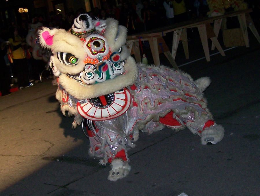 chinese lion dance wallpaper.