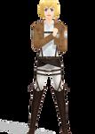 [MMDxSNK] Armin Arlert Model + DL