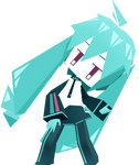  DL SERIES  Paper Craft Hatsune Miku (72/?) by typhlosion4ever