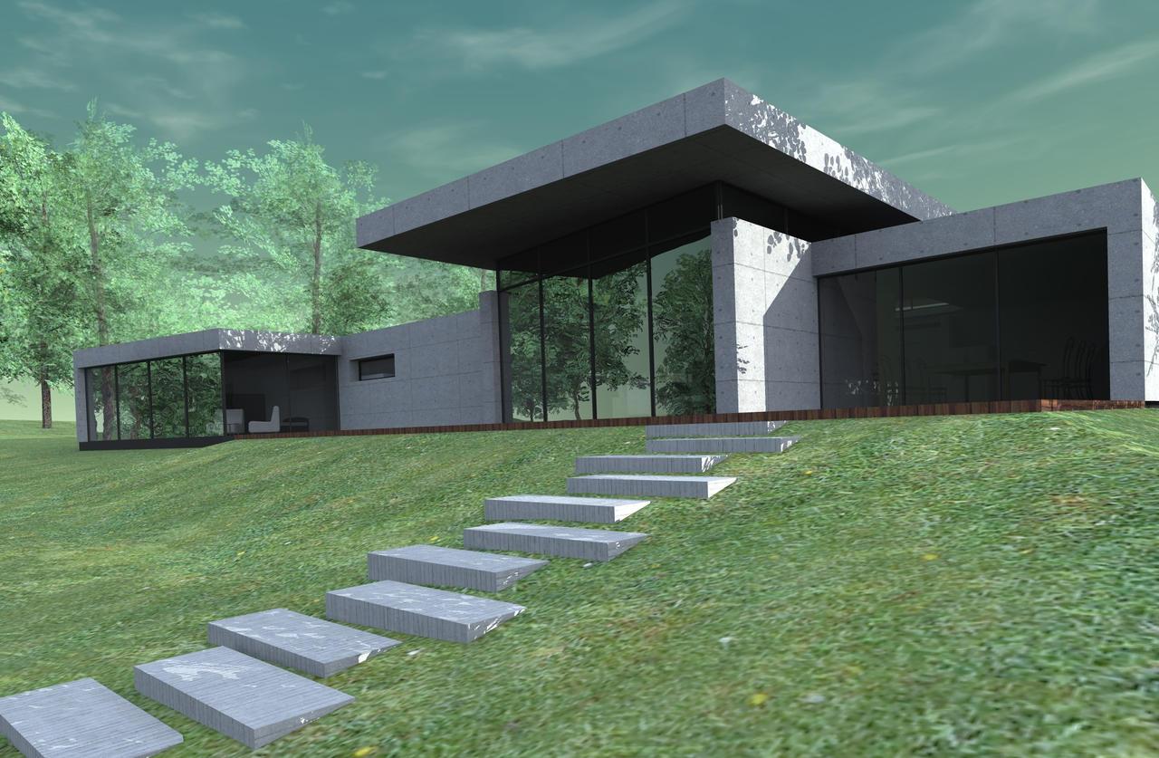 artlantis render of my project by tikro on deviantart. Black Bedroom Furniture Sets. Home Design Ideas