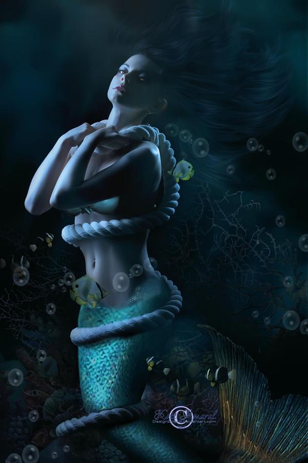 美人鱼的传说 - ★  牧笛  ★ - ★★★ 世界数码艺术博览★★★
