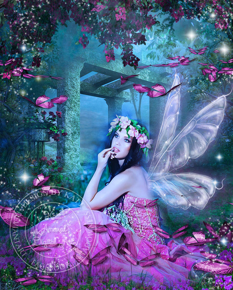 Butterfly Pink by DesignbyKatt
