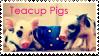 Teacup Pigs Stamp by FFStudioZ
