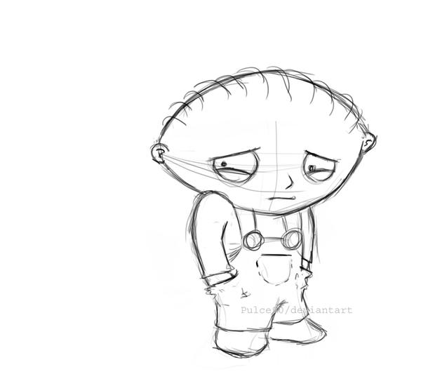 Gangster Stewie Free Coloring Pages Stewie Coloring Pages