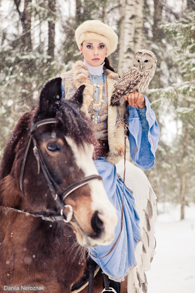 Owl's hunting 2 by Danila-Neroznak