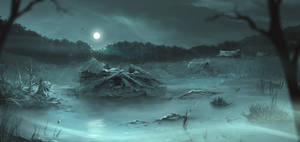 Night swamp