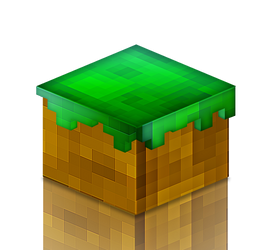 Bloc in Minecraft Style by ouhti