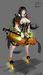 Daily Sketch : Halloween costume