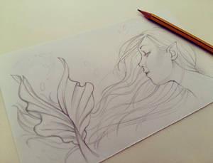 Siren Sketch