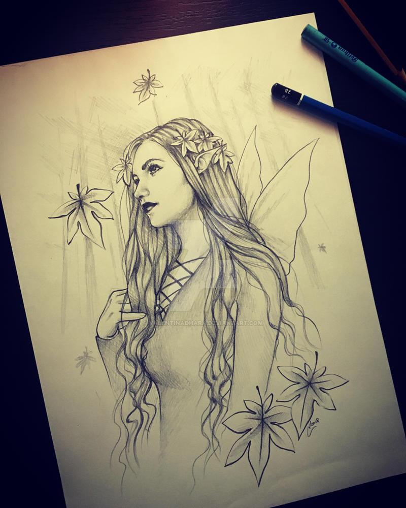 Anna's path by Valentinadhara