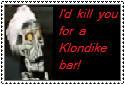 I'd kill you...Achmed