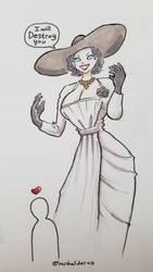Giant Vampire Lady