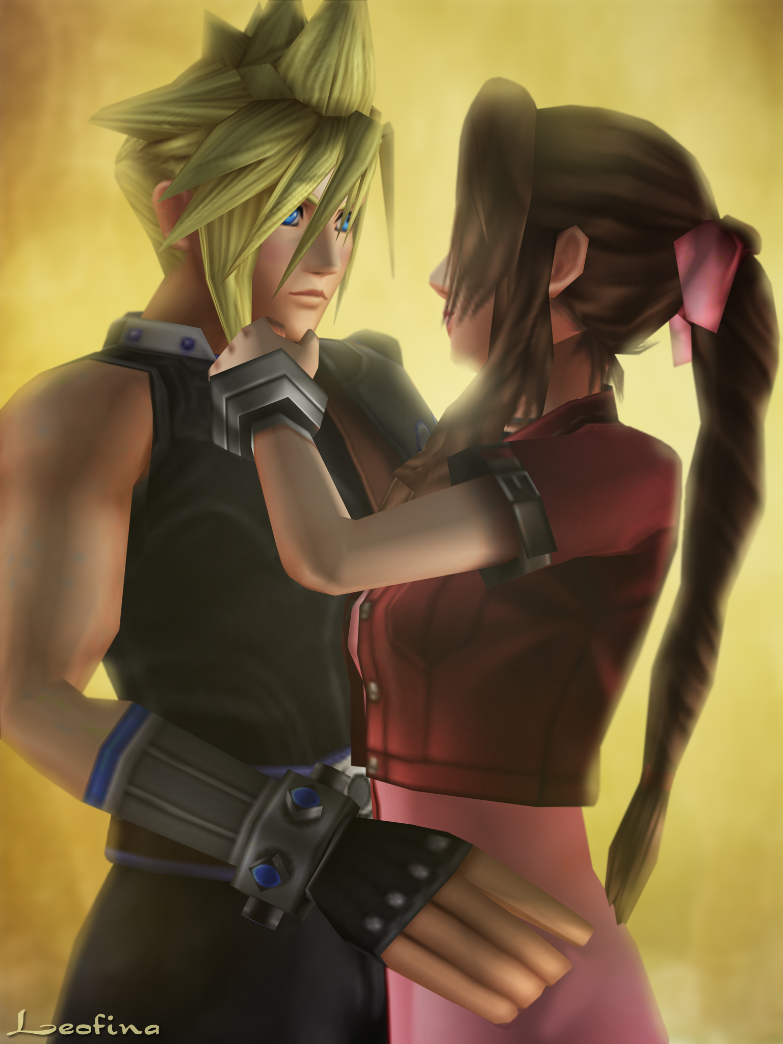 final fantasy cloud and aerith relationship questions