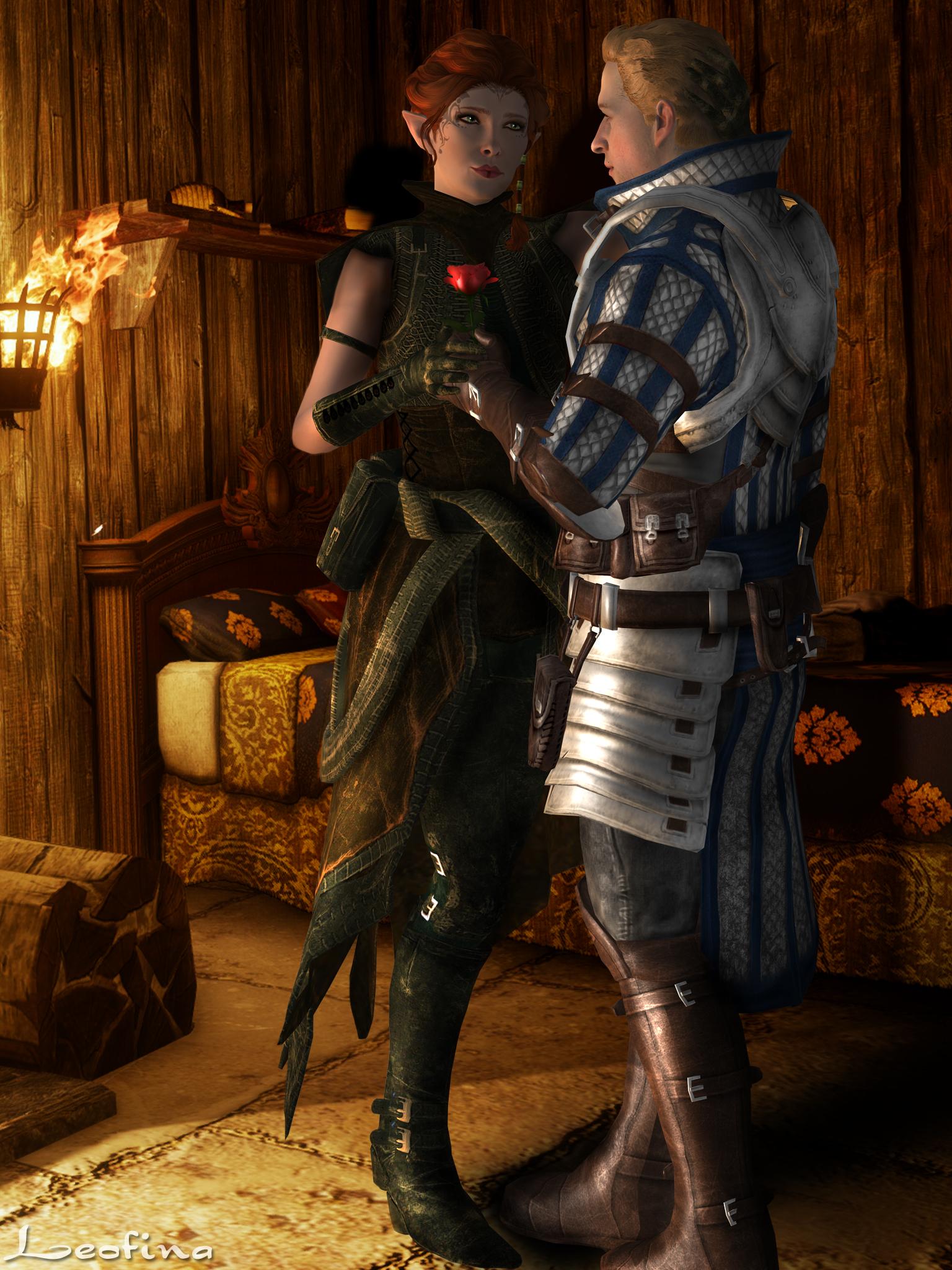 Праздничные подарки в dragon age origins 389