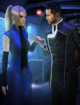 Shepard x Samus