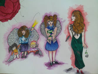 Evolution of innocence by Yumnah