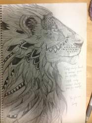 Aztec Lion