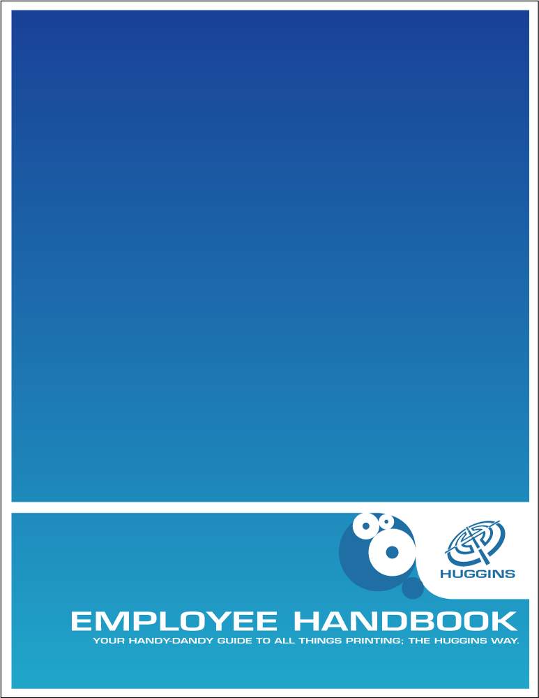 Huggins employee handbook cove by dragonorion on deviantart for Employee handbook cover design template