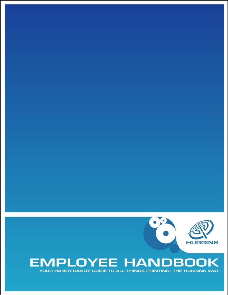 Huggins employee handbook cove by dragonorion on deviantart for Employee handbook cover design template
