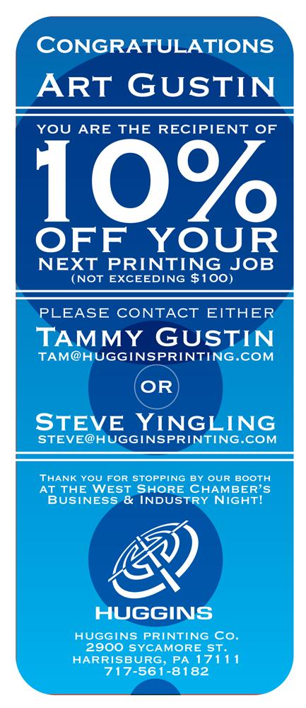 Huggins honda discount coupons