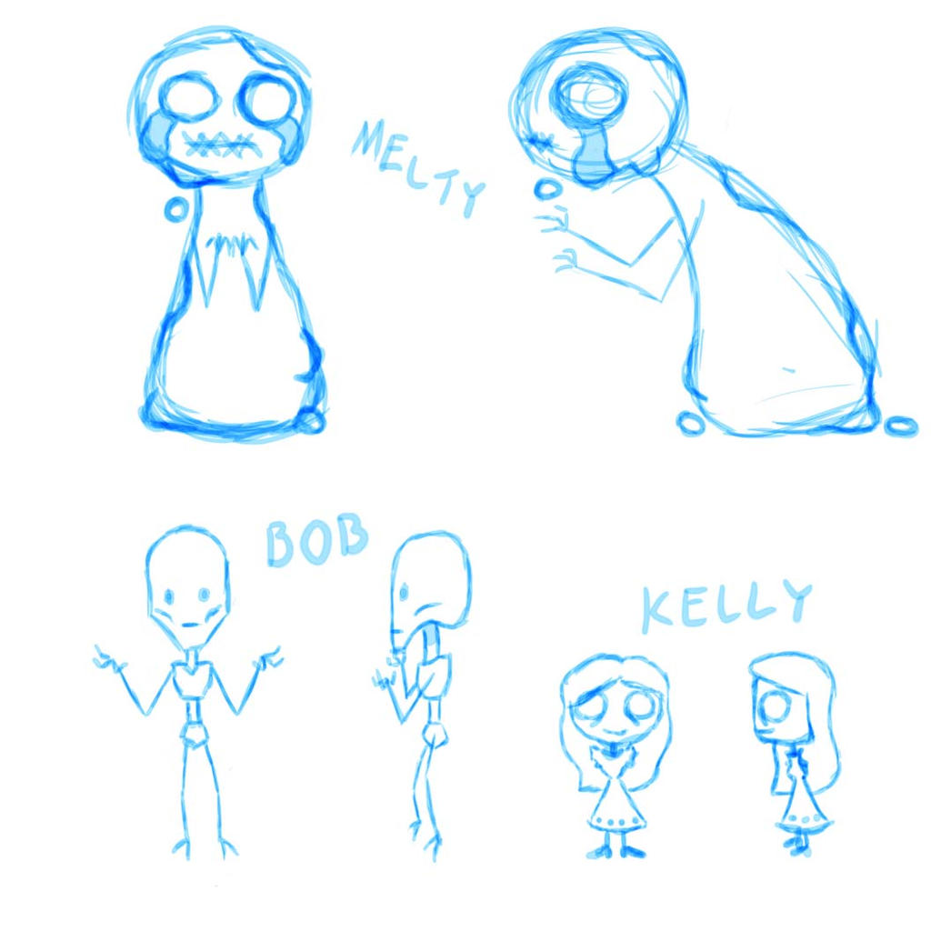 Sketches by MosquitoDrawsNStuff