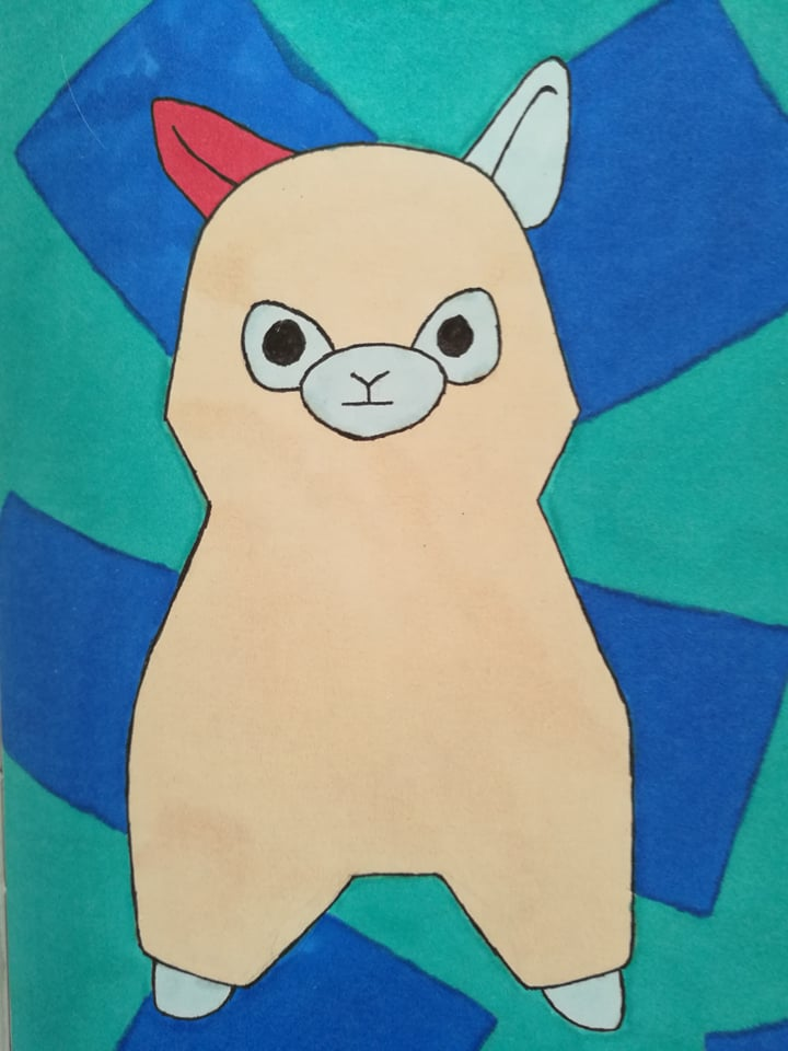 AL the magic Alpaca by MosquitoDrawsNStuff
