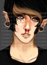 bloody smirks by KonekoIMVU