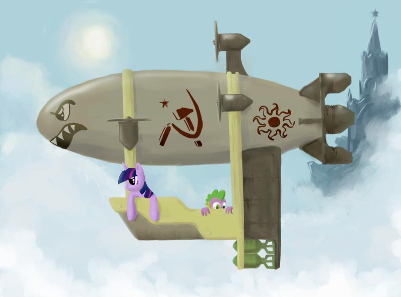 My Little Kirov: Airship is Magic by Kutejnikov