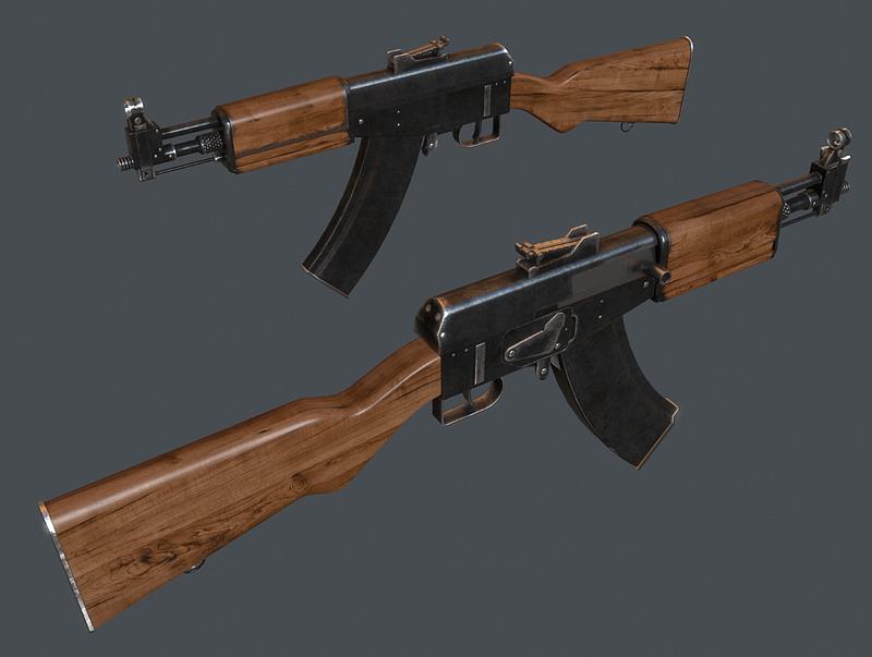 AG-042 Assault Rifle (2) by Kutejnikov