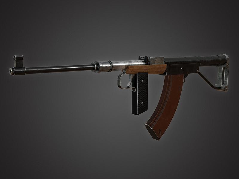 Korovin's Assault Rifle by Kutejnikov