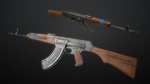 Kuzmischev's Assault Rifle AK-44 #3