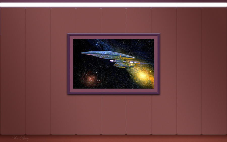 Painting In Picard S Ready Room