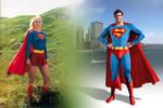 Kara and Kal-El