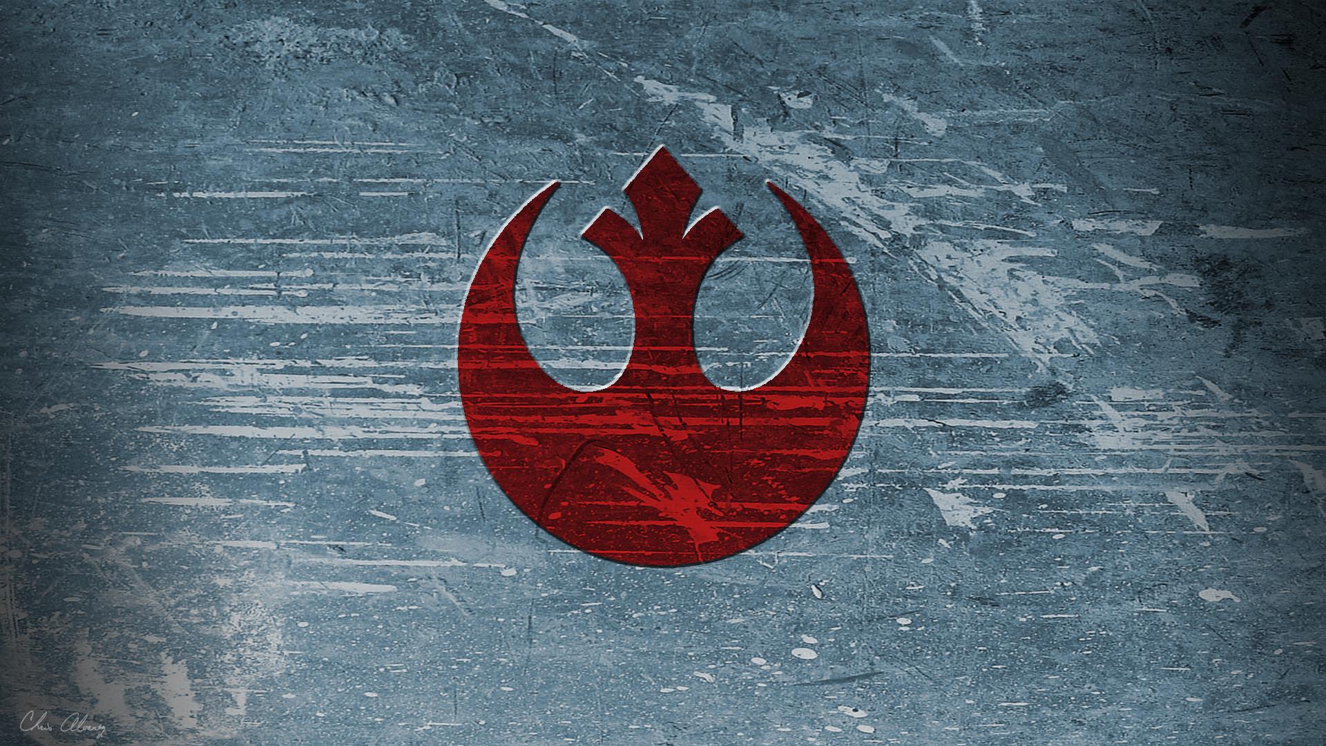 Rebel Symbol wallpaper at 1920x1080