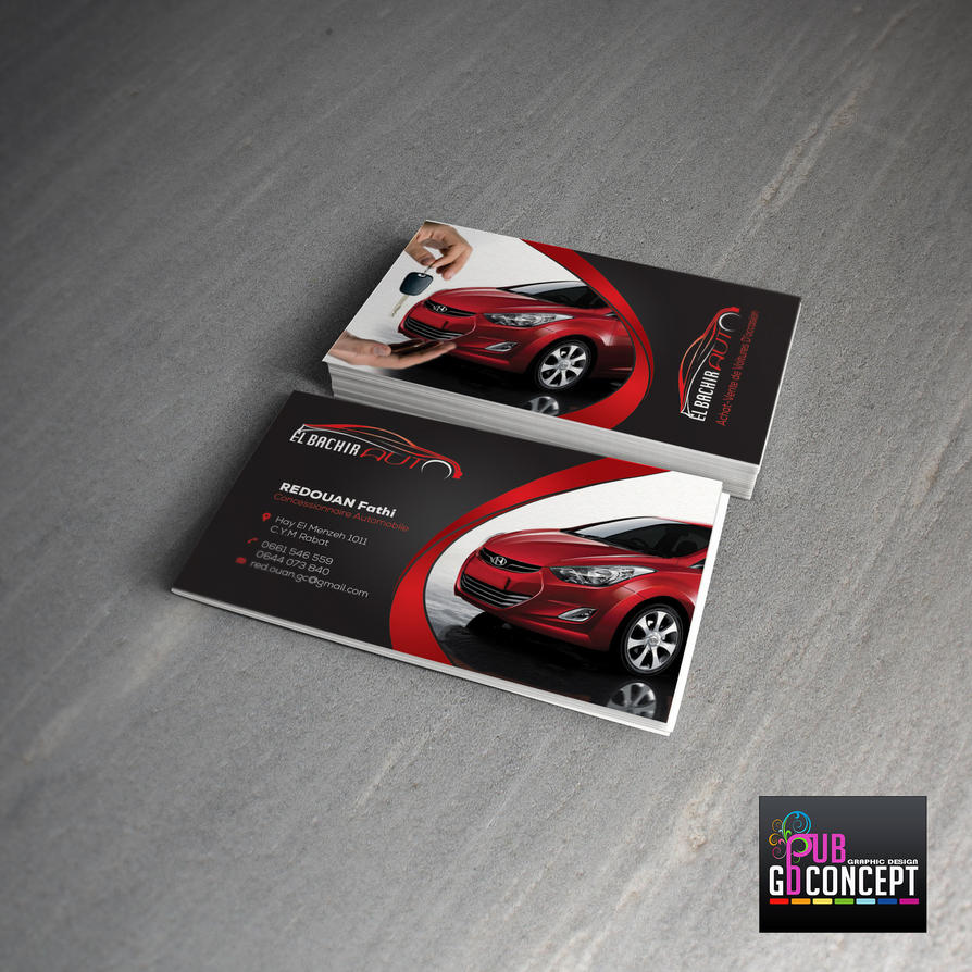 business cards selling cars by dalyous on deviantart