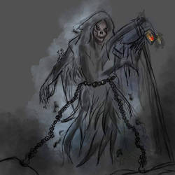 Grim Reaper.  by creative-jizz