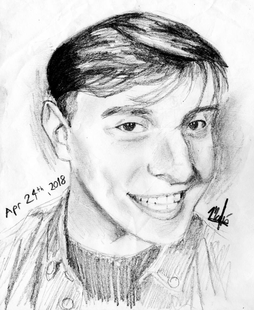Thomas Sanders' portrait by Malu-CLBS