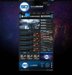 Customisable Website Template - For Sale