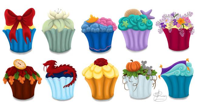 The Princess Cupcake Collection