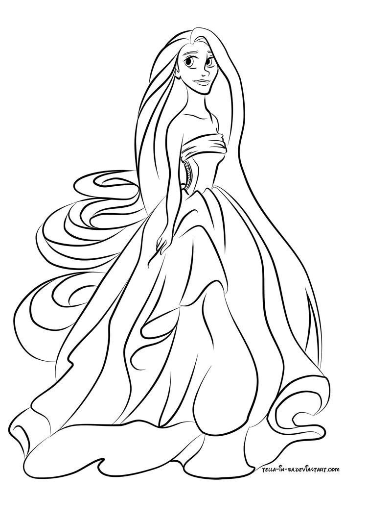 Colour Me Rapunzel by TellainSA on DeviantArt