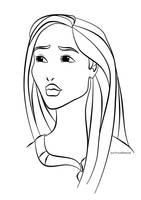 Colour Me: Pocahontas by Tella-in-SA